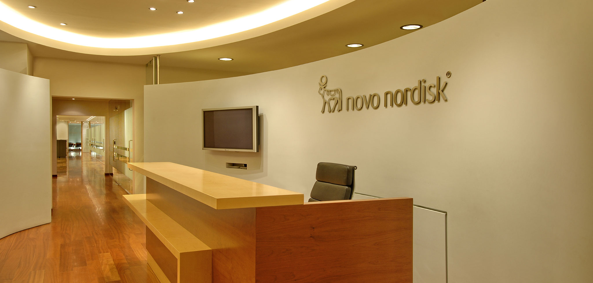 Offices of pharmaceutical company Novo Nordisk A/S
